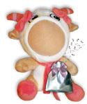 Говорящая игрушка фотосувенир Козочка