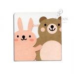 """Мини открытка с вырубкой """"Friends"""""""
