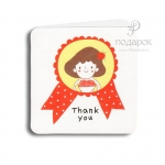 """Мини открытка """"Thank you"""""""