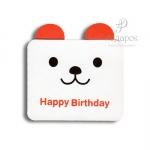 """Мини открытка """"Birthday"""""""