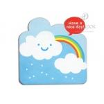 """Мини открытка с вырубкой """"Have a nice day"""""""